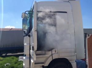 čištění kamionů - rychlé schnutí